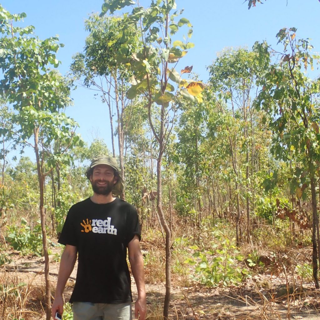 James Jacobs Teach Head of House Xavier College Melbourne on Red Earth Aboriginal Culture Immersion in Arnhem Land